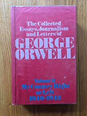 orwell collected essays journalism and letters Click to read more about the collected essays, journalism and letters of george orwell (i-iv) by george orwell librarything is a.