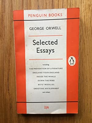 selected essays by george orwell abebooks selected essays george orwell