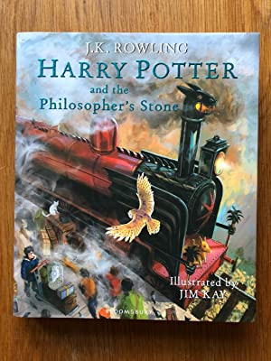 Harry Potter and the Philosopher's Stone: Illustrated: J.K. Rowling -