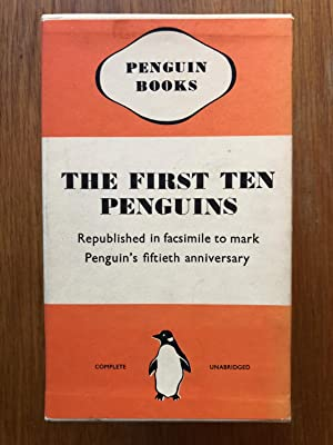 The First Ten Penguins - 50th Anniversary Facsimile box set: Andre Maurois - Ernest Hemingway - ...