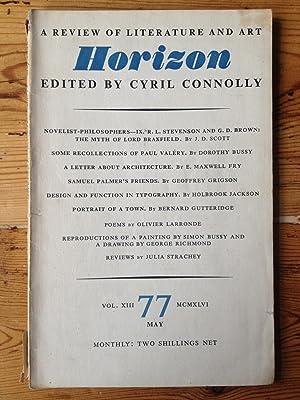 Horizon - Vol XII No. 77 May