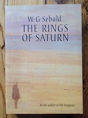 The Rings of Saturn: Sebald, W. G.