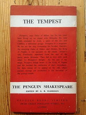 The Tempest: William Shakespeare - G B Harrison