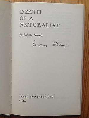 Death of a Naturalist: Seamus Heaney