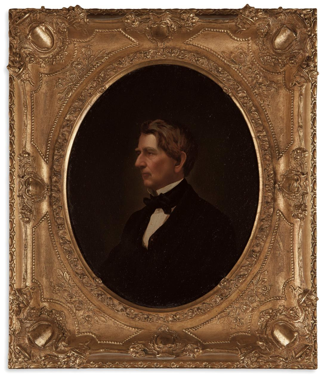 18 x 24 1801-1872 Namerican Statesman Oil Over A Photograph Taken By Mathew B Brady During The Civil War Poster Print by William Seward