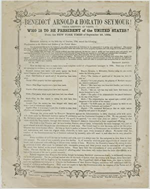 Pro-Lincoln Reelection Broadside