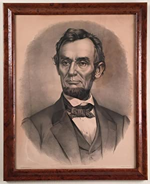 Lincoln Portrait by Currier & Ives
