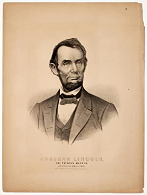 Currier and Ives Mourn Lincoln After His Assassination: ABRAHAM LINCOLN