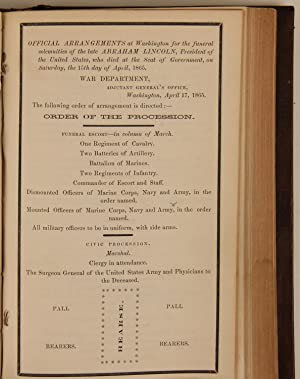 1865 General Orders, Including Many Regarding Lincoln?s Assassination