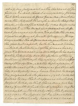 AN EXTRAORDINARY RARITY! Leaves From George Washington's: GEORGE WASHINGTON