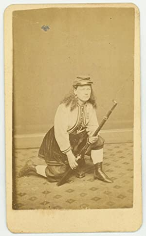 Union Color Bearer Kady Brownell, Who Fought at First Bull Run and Displayed Incredible Bravery a...