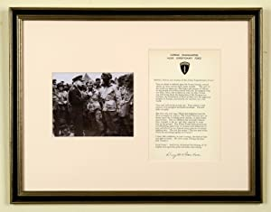 Eisenhower Signed D-Day Message