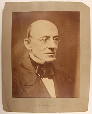 A Huge Print of the Great Abolitionist William Lloyd Garrison