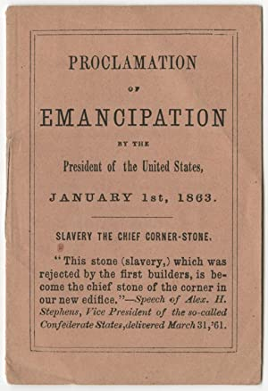 The Emancipation Proclamation: A Miniature Edition of: ABRAHAM LINCOLN