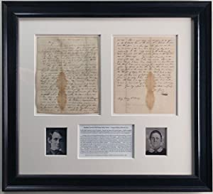 The Only Abraham Lincoln Letter to his: ABRAHAM LINCOLN