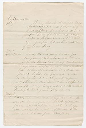 A Fighting Vermont Regiment Summary of Actions after Gettysburg, July 5-13, 1863