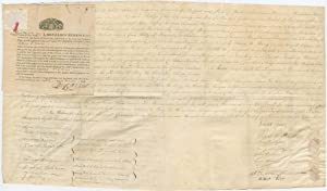 Many of the leading Jews of Newport and New York sign 1818 land sale from estate of Benjamin Seix...