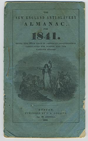 1841 Anti-Slavery Almanac Including Report on Amistad Case and Illustrations of Cinque, Grabeau, ...