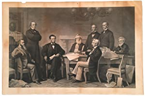 Lincoln Reads the Emancipation Proclamation to His Cabinet