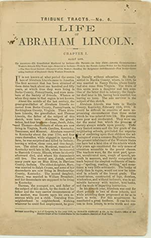 An Early Lincoln Campaign Biography: JOHN LOCKE SCRIPPS