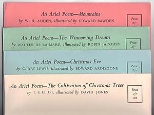 Ariel Poems - Complete set of Eight: T. S. Eliot;