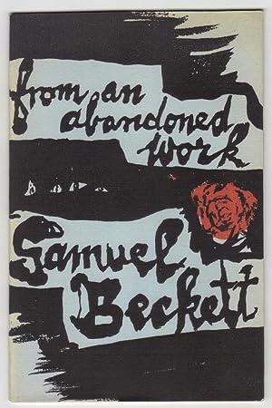 From An Abandoned Work: Samuel Beckett