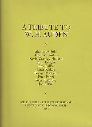 A Tribute to W. H. Auden: Alan Brownjohn, Charles