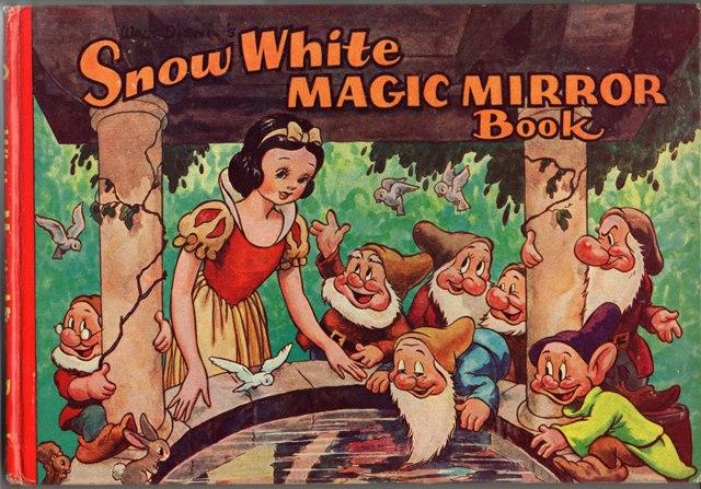 Walt Disney's Snow White Magic Mirror Book and the Story of Snow White and the Seven Dwarfs.: ...