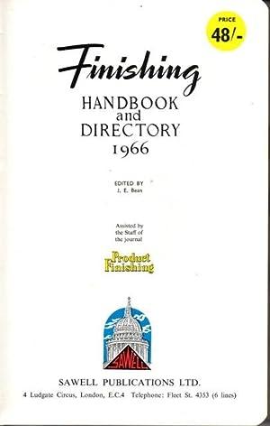 Finishing Handbook and Directory 1966: BEAN, J.E.(Editor.)