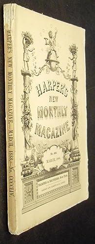 Harper's New Monthly Magazine - March 1888 #454: Sarah Orne Jewett, William Wordsworth, W D ...