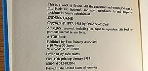 Ender's Game and Speaker for the Dead - 2 volume set: Orson Scott Card
