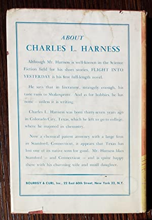 Flight Into Yesterday: Charles L. Harness