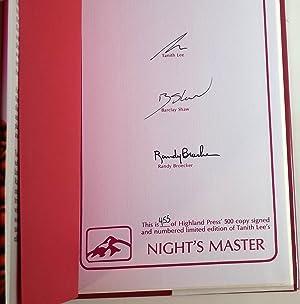 Night's Master: Tanith Lee