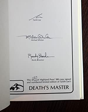 Death's Master: Tanith Lee