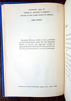 Bimbashi Baruk of Egypt: Sax Rohmer