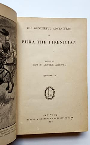The Wonderful Adventures of Phra The Phoenician: Edwin Arnold