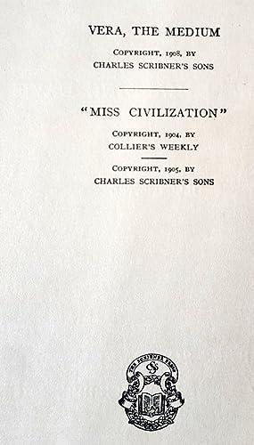 "Vera The Medium :: ""Miss Civilization"": Richard Harding Davis"