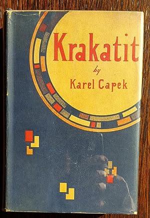 Krakatit: Karel Capek