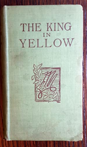 The King in Yellow: Robert W. Chambers