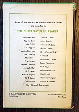 The Supernatural Reader: Groff and Lucy Conklin [Editors]