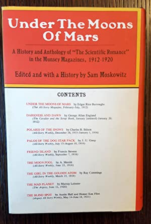 Under the Moons of Mars: A History and Anthology of 'The Scientific Romance' in the ...