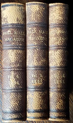 Joan Haste: Pall Mall Magazine Volumes 4 and 5 and 6; September 1894 - August 1895: H. Rider ...