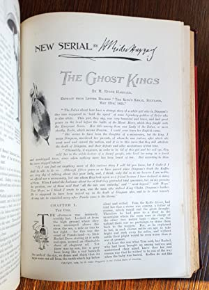 The Ghost Kings complete in Pearson's Magazine Volumes 24 and 25 July 1907- June 1908: H. ...