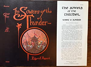 The Sowers of the Thunder [Dust Jacket Only]: Robert E. Howard