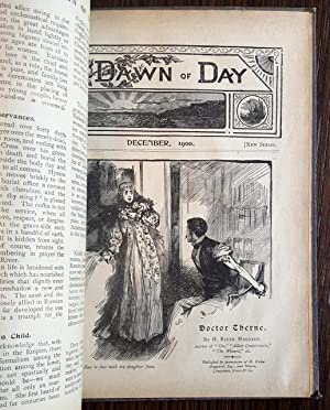 The Dawn of Day Magazine: January - December 1900 - bound set of 12: H. Rider Haggard