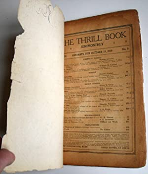 The Thrill Book - Vol. 3 #2 - 10/15/19 Final Issue: Ronald Oliphant - Editor