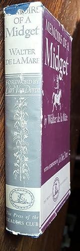 Memoirs of a Midget: De La Mare, Walter