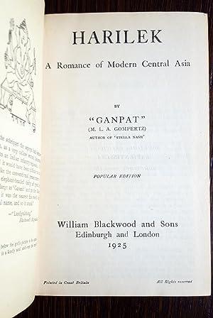 Harilek: A Romance of Modern Central Asia: Ganpat