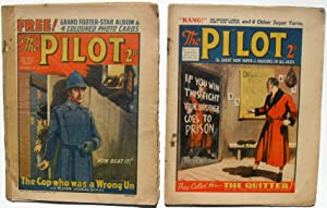 The Pilot - 2 Issue Lot - Dime Novels - #2 and #7