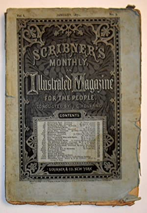 Scribner's Monthly Magazine: An Illustrated Magazine for the People - January 1871